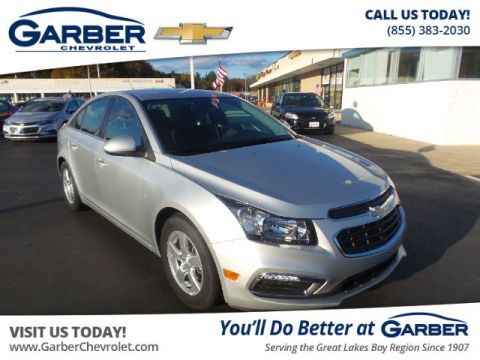 Pre-Owned 2015 Chevrolet Cruze 1LT Manual