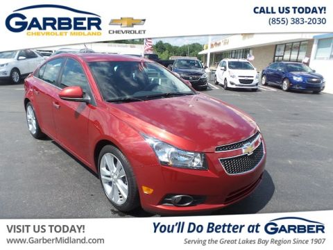 Pre-Owned 2012 Chevrolet Cruze LTZ Sedan in Midland #20309390T ...