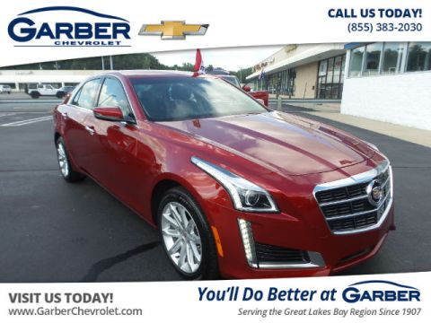 Pre-Owned 2014 Cadillac CTS 2.0L Turbo AWD