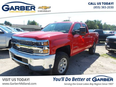 New 2018 Chevrolet Silverado 2500HD WT 4WD