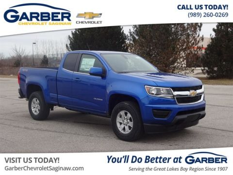 New 2019 Chevrolet Colorado Wt Truck In Midland K1158752 Garber