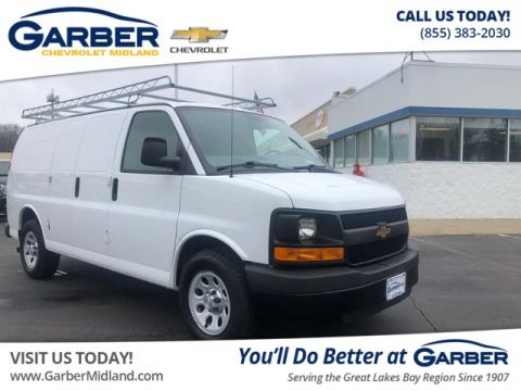 Pre-Owned 2012 Chevrolet Express 1500 Work Van