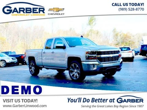 New 2018 Chevrolet Silverado 1500 1LT