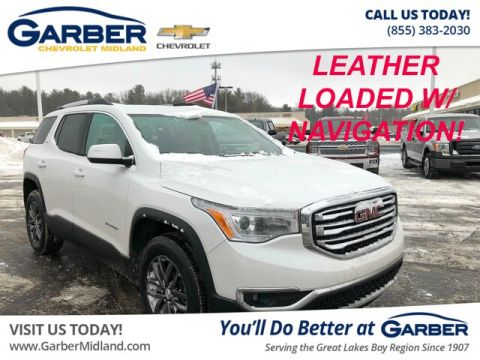 Pre-Owned 2017 GMC Acadia SLT-1 FWD SUV