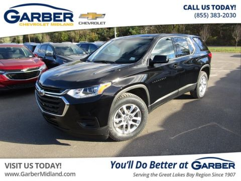 Pre-Owned 2019 Chevrolet Traverse LS w/1LS