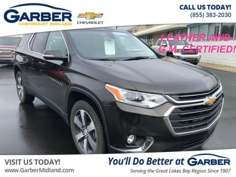 Pre-Owned 2018 Chevrolet Traverse LT Leather AWD