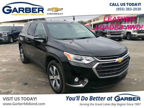 Pre Owned 2018 Chevrolet Traverse Lt Leather Suv In Midland