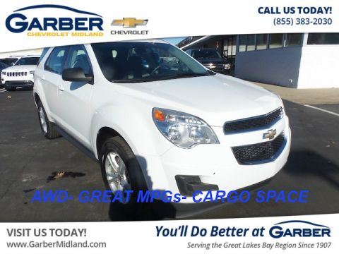Pre-Owned 2011 Chevrolet Equinox LS AWD