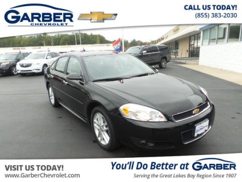 Pre-Owned 2016 Chevrolet Impala Limited LTZ FWD Sedan
