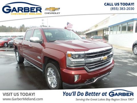 Pre-Owned 2016 Chevrolet Silverado 1500 High Country (4x4 Crew Cab 6.6 ft. box 153 in. WB) 4WD