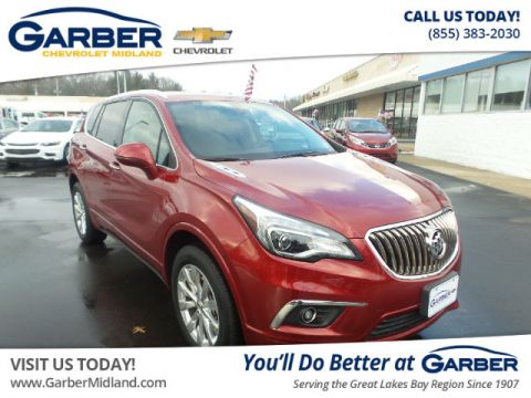 Pre-Owned 2017 Buick Envision Leather AWD
