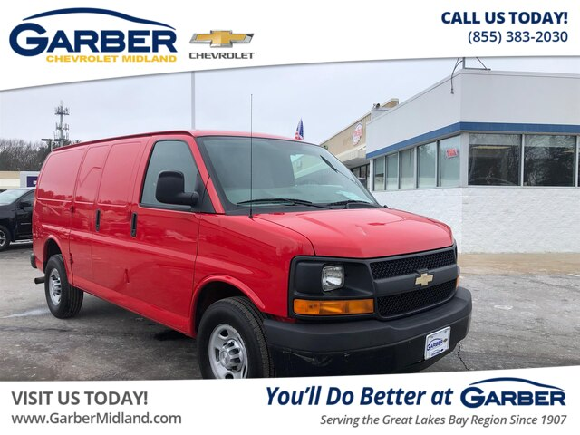 495823d93b Pre-Owned 2015 Chevrolet Express 2500 CARGO Cargo Van in Midland ...