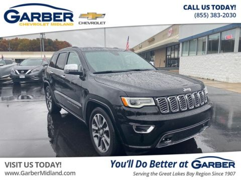 Pre-Owned 2017 Jeep Grand Cherokee Overland With Navigation & 4WD