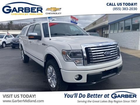 Pre-Owned 2013 Ford F-150 Platinum With Navigation & 4WD
