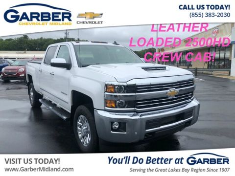 Pre-Owned 2018 Chevrolet Silverado 2500HD LTZ 4WD