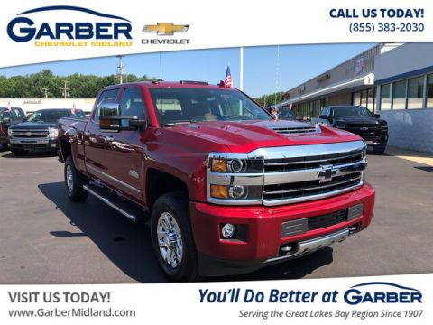 Pre-Owned 2019 Chevrolet Silverado 3500HD High Country 4WD