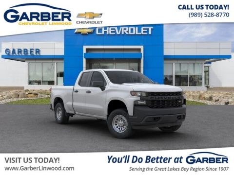 New 2019 Chevrolet Silverado 1500 Work Truck 4WD