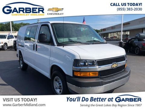 Pre-Owned 2018 Chevrolet Express 2500 Work Van RWD Cargo Van