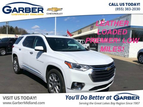 Pre-Owned 2018 Chevrolet Traverse Premier FWD SUV
