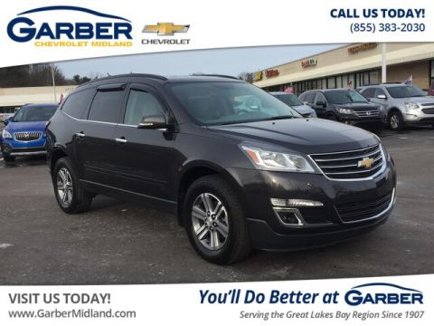 Pre-Owned 2017 Chevrolet Traverse LT w/2LT With Navigation