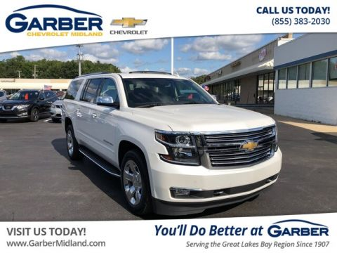 Pre-Owned 2017 Chevrolet Suburban Premier With Navigation & 4WD