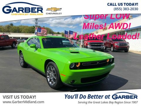 Pre-Owned 2017 Dodge Challenger GT AWD