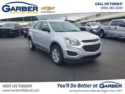 Pre-Owned 2017 Chevrolet Equinox LS AWD